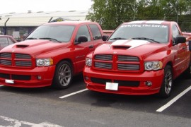 Dodge Ram SRT-10 8.3 V10 lpg / autogas conversion photos, Northern Ireland