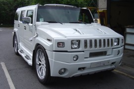 Hummer H2 6.0l V8 lpg / autogas conversion photos, Northern Ireland