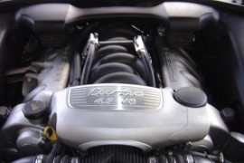 Porsche Cayenne 4.5 V8 Turbo lpg / autogas conversion photos, Northern Ireland