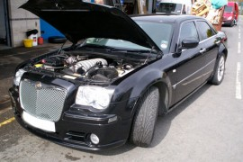 Chrysler 300C SRT-8 HEMI 6.1L lpg / autogas conversion photos, Northern Ireland