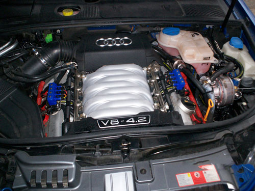Audi S4 - V8 4.2L | | Automotive Gas Systems | LPG Conversions ...