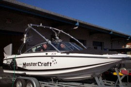 Mastercraft Speed Boat lpg / autogas conversion photos, Northern Ireland