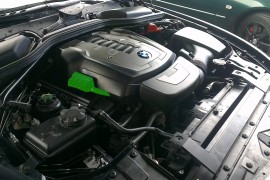 BMW 650i lpg / autogas conversion photos, Northern Ireland