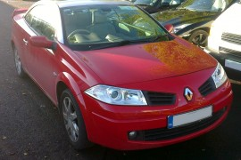Renault Megane Cabriolet lpg / autogas conversion photos, Northern Ireland
