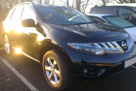 Nissan Murano 3.5 V6 lpg / autogas conversion photos, Northern Ireland